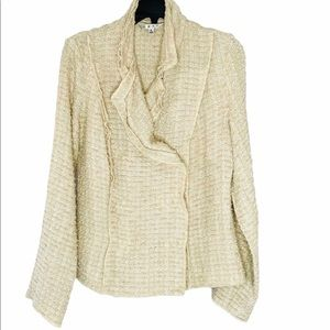 🐣 CABI TWEED DOUBLE BREASTED BLAZER SIZE SMALL